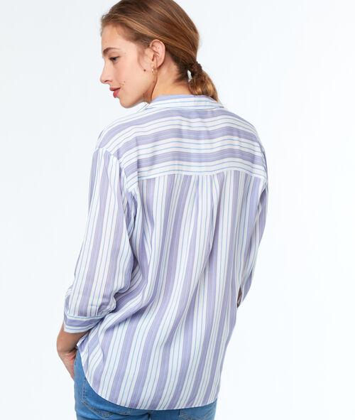 Camisa estampada a rayas