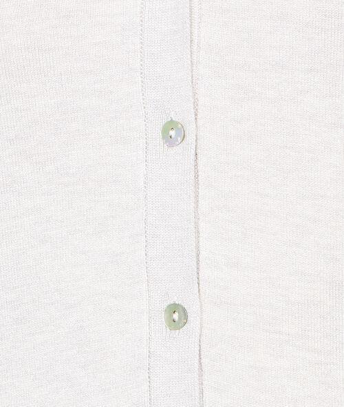 Chaqueta botones manga larga