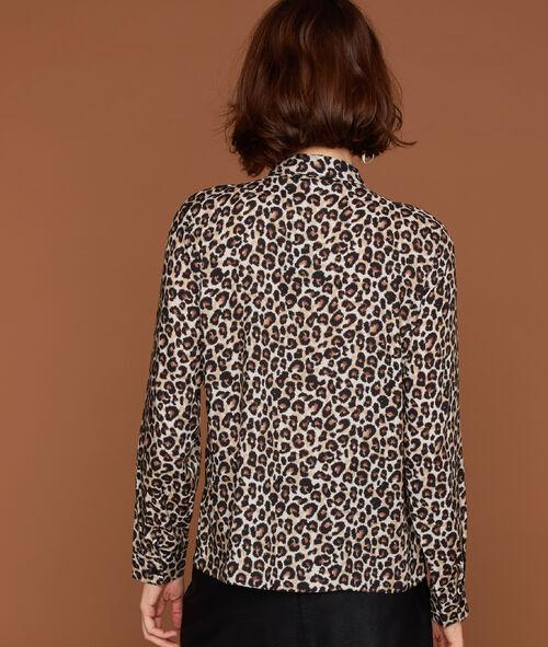 Camisa estampado leopardo
