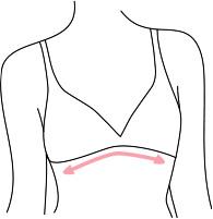 Mesure du dessous de la poitrine