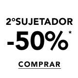 2°sujetador -50%*