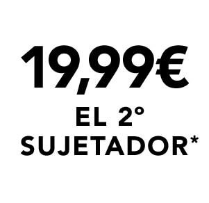 19,99€ el 2° sujetador